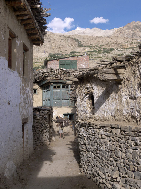 Nako is a piece of Western Tibet in India
