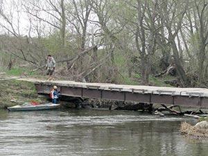 мостик у Лошатовки