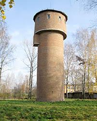 водонапорная башня в Метростроевском