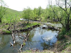 порог ниже села Щучье