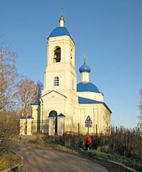 церковь Спаса Преображения в Спас-Досчатом