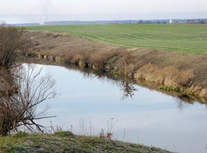 река Осетр ниже Зарайска
