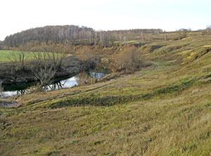 высокая излучина ниже устья Второго Осетрика