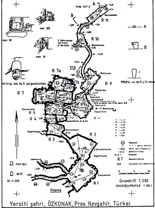 Схема электроснабжения подземного рудника.